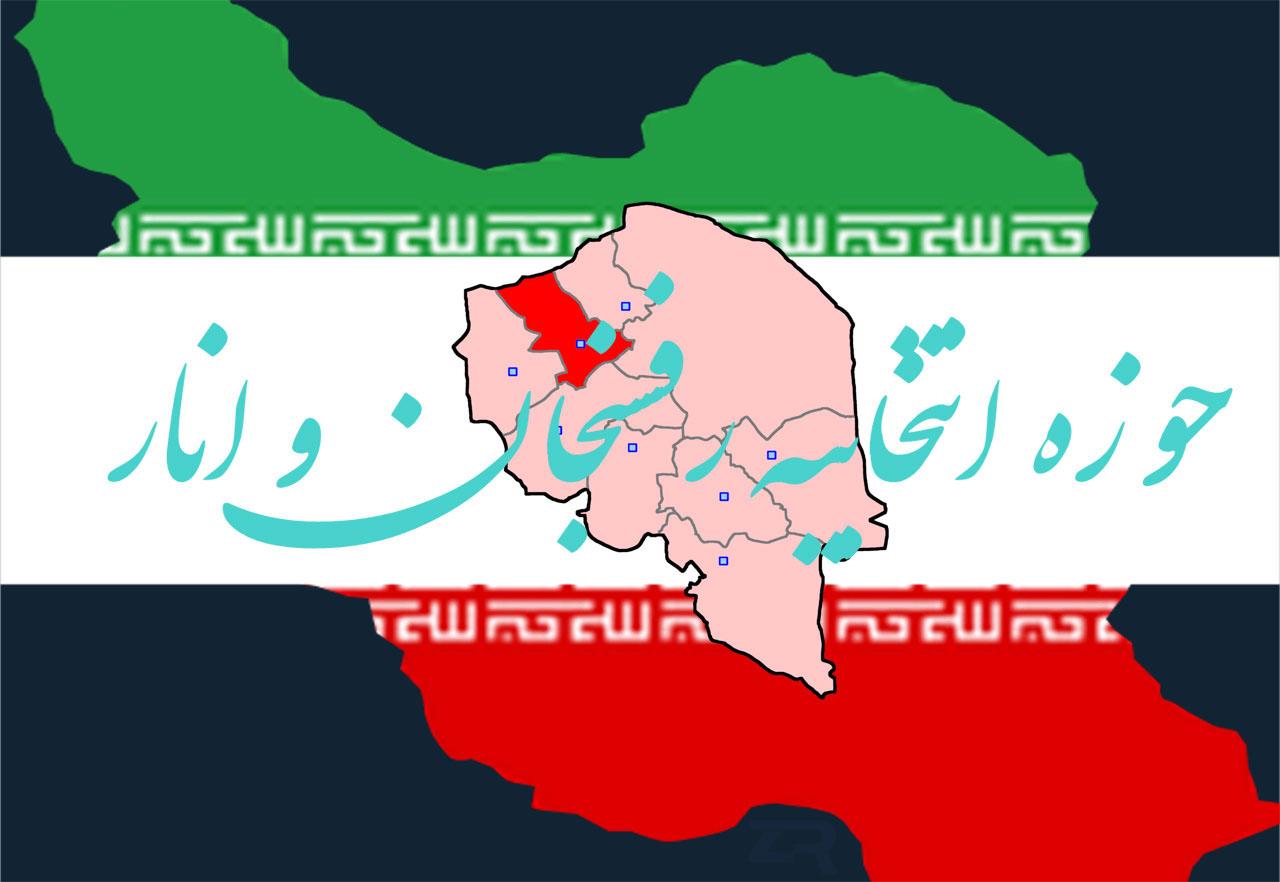 حوزه انتخابیه رفسنجان و انار